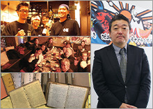 株式会社湯佐和 代表取締役 兼 人財共育担当 湯澤 剛 代表取締役 中嶋 洋子