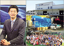 株式会社流機エンジニアリング 代表取締役社長 西村 司