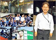 小松プラント株式会社 代表取締役 角谷 隆
