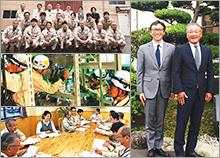 株式会社堀内電機製作所 取締役会長 小林 隆幸 代表取締役 杉田 光徳